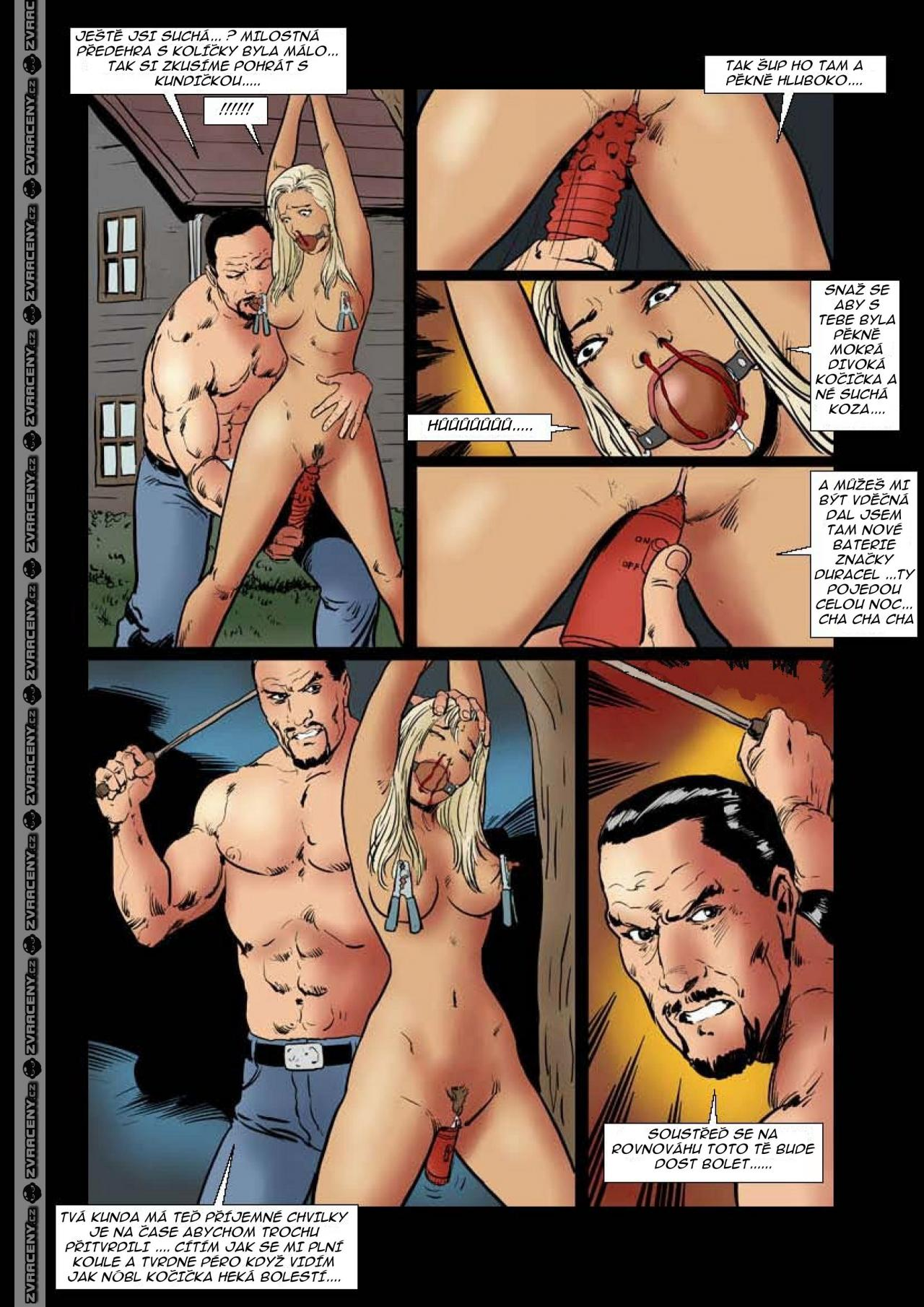 Kreslený xxx porno komiks