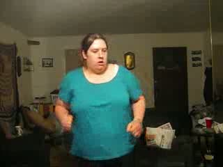 špatný ženský tanec